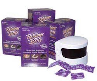 Retainer Brite Cleaning Tablets 1 year Supply + Sonic ...